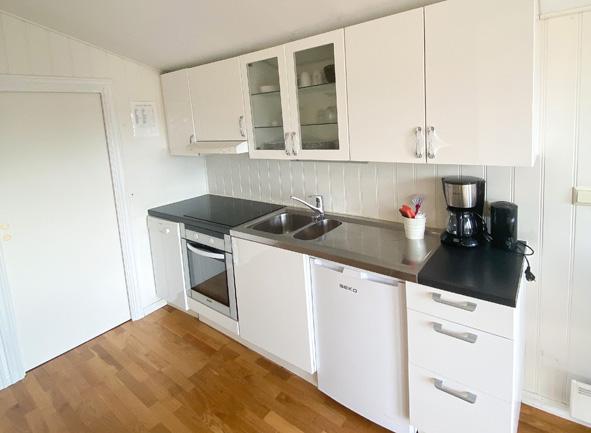Kjøkken med kjøkkenutstyr