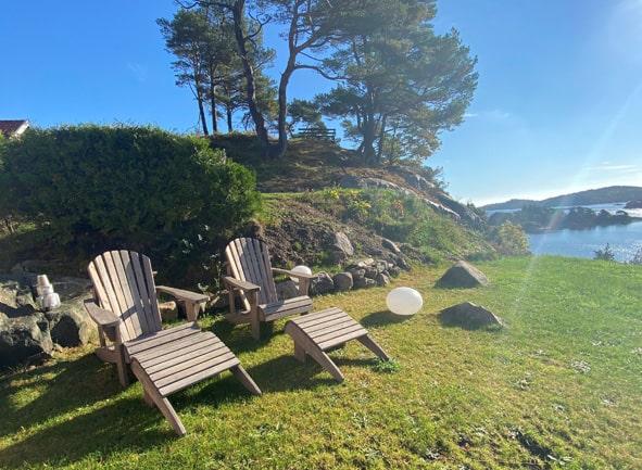 Solplass på Sørlandet