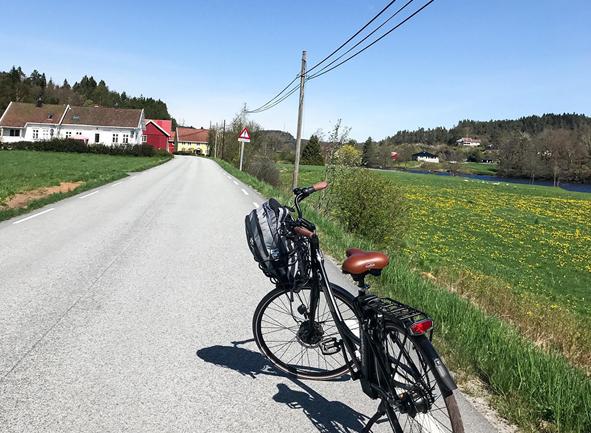 Sykkeltur på Sørlandet