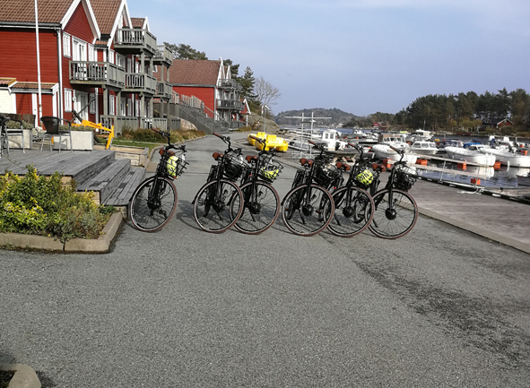 El-sykkel line-up